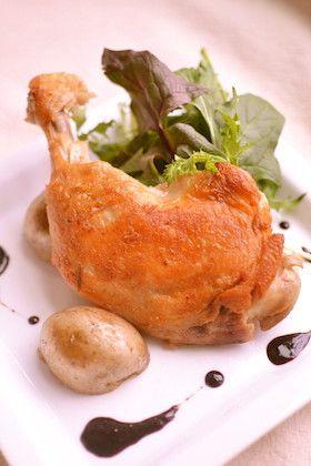 骨付きモモ肉のコンフィ by 問題のあるレストラン [クックパッド] 簡単 ...