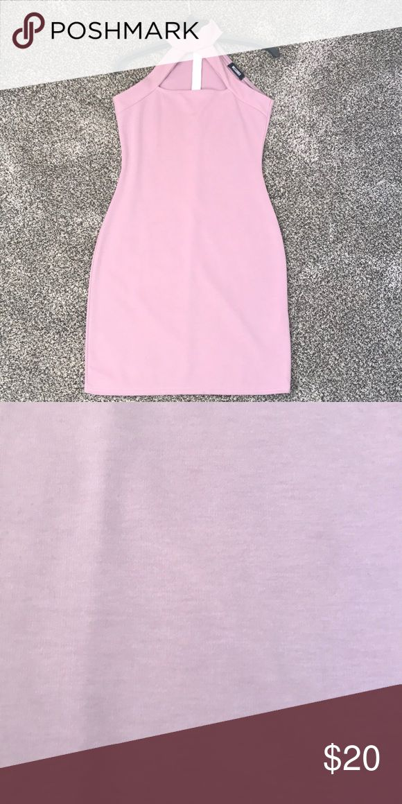 Missguided dress Bodycon missguided dresses in lavender with a chocker neck Missguided Dresses Mini