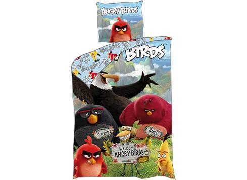 ANGRY BIRDS sengetøj