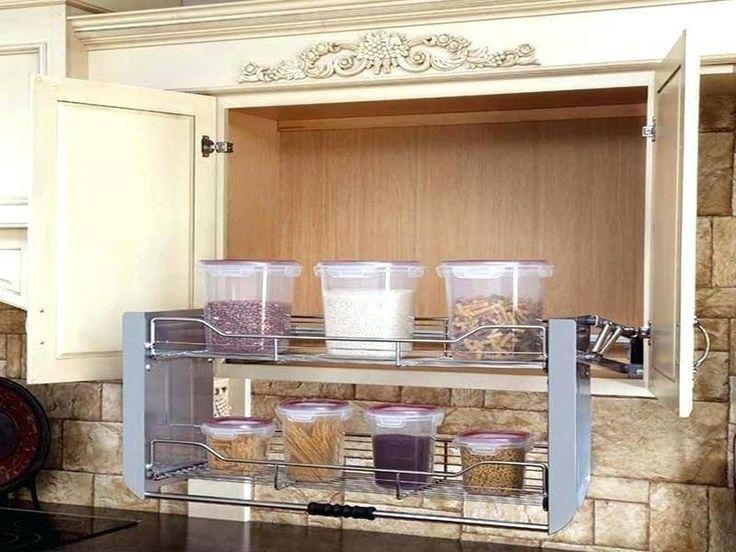 Blind Corner Wall Unit Pull Out Ideas, Corner Kitchen Wall Cabinet Storage Ideas