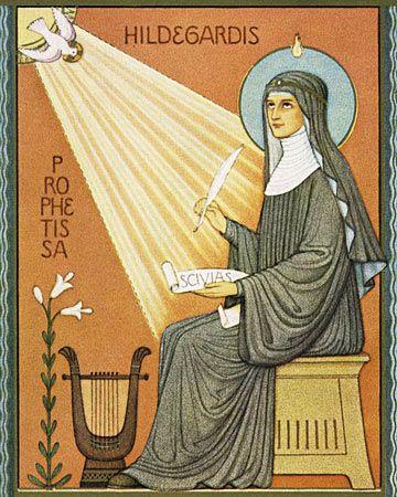 Feast Day of St. Hildegard of Bingen