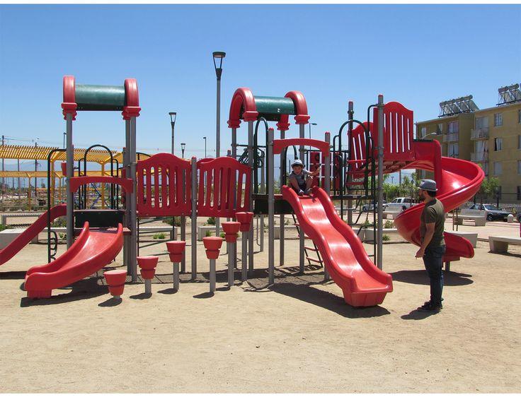 Juegos infantiles modulares de fahneu
