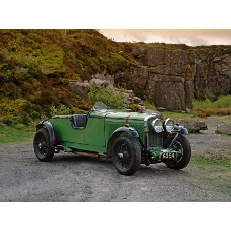 1931 Talbot 105 30 litre racing team car Reg GO54 Country of origin United Kingdom Canvas Art - Panoramic Images (18 x 24)