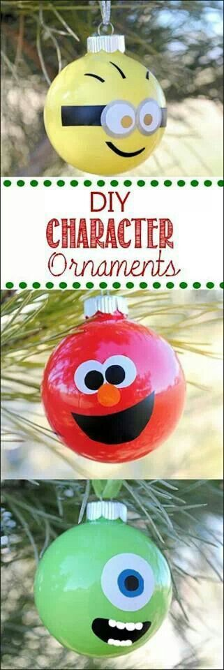 DYI Christmas ornament