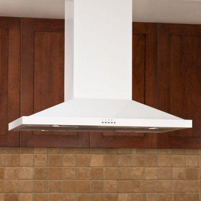White Kitchen Exhaust Hoods 55 best chimney range hoods images on pinterest | kitchen ideas