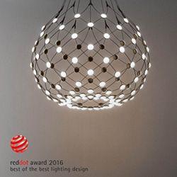 """Luceplan vince il premio Red Dot """"Best of the Best """" 2016 con la lampada Mesh di Francisco Gomez Paz"""