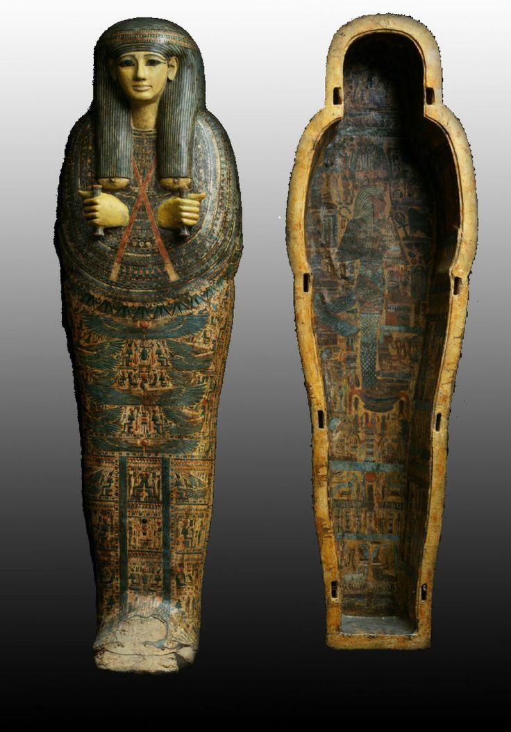 The Arhenius Sarcophagus, Third Intermediate 21st Dynasty 1069-945 BC