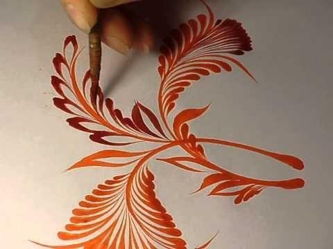One stroke begonia двойной мазок ( бегония) - YouTube