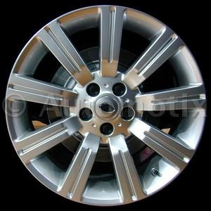 "2009 Land Rover Range Rover Sport   Description:	20"" x 9.5"" alloy wheel  all painted silver; 9 grooved spoke  Pack:	Single wheel  Discount Price:	$197.45  Fits:	  2009 Land Rover Range Rover Sport  2008 Land Rover Range Rover Sport  2007 Land Rover Range Rover Sport  2006 Land Rover Range Rover Sport"