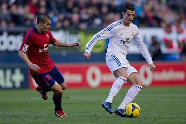 Cristiano Ronaldo - CA Osasuna v Real Madrid CF - La Liga