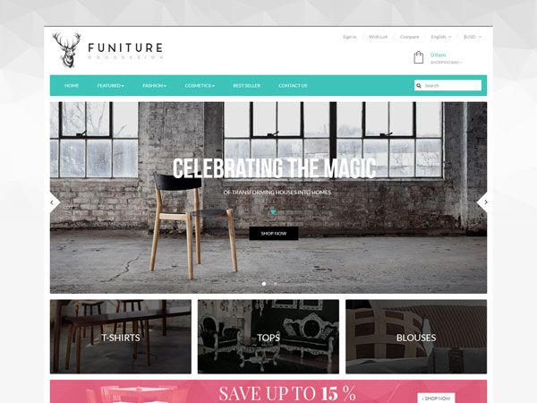 AP Furniture PrestaShop Theme