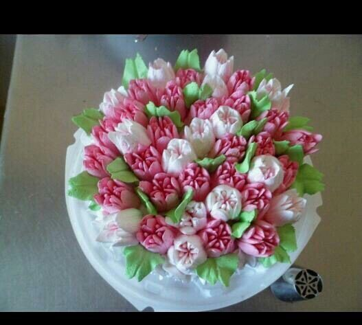 Details about 18pcs / Russian Tulip Stainless Steel Cake ...