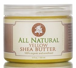 West African Yellow Shea Butter is renowned for its high healing fraction and amazing therapeutic powers. Shea butter contains Vitamin A, Vitamin E and cinnamic acid which are essential elements for maintaining healthy and vibrant skin.     Nature's Shea Butter