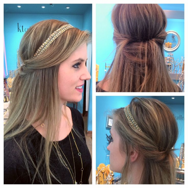 Wedding Hairstyles Down With Headband