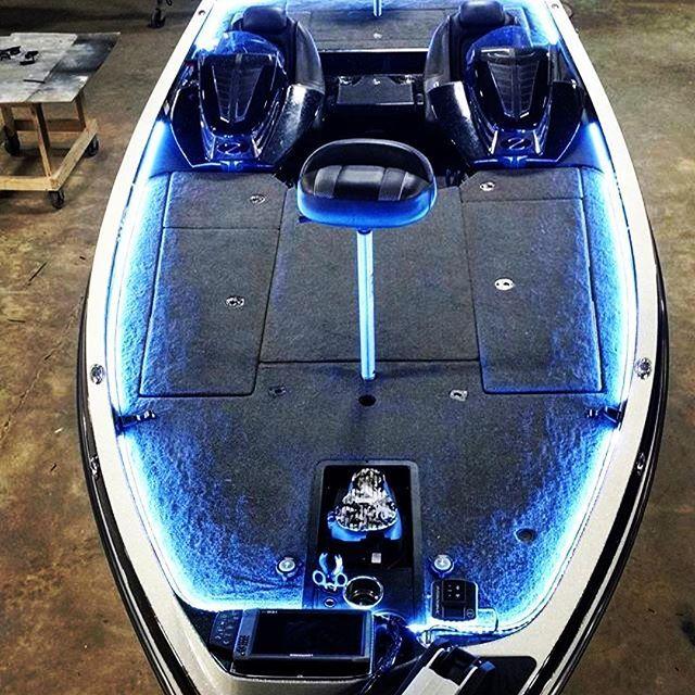 Led Lights In Jon Boat: 61 Best Bass Boat LED Lighting Images On Pinterest