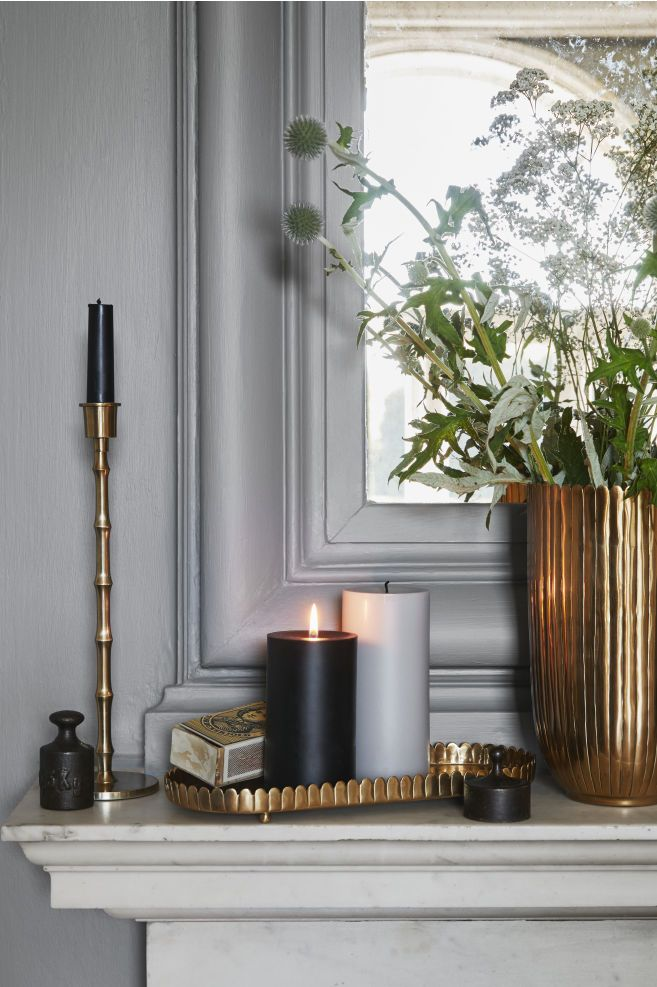 Large Pillar Candle In 2020 Large Pillar Candles H M Home