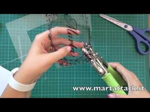 Shrink plastic (polyshrink) tutorial italiano. - YouTube