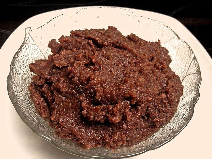 Rote - Bohnen - Paste, ein sehr schönes Rezept aus der Kategorie Dessert. Bewertungen: 17. Durchschnitt: Ø 4,1.