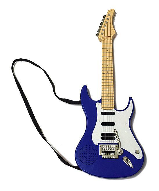 Blue Kids Electric Guitar