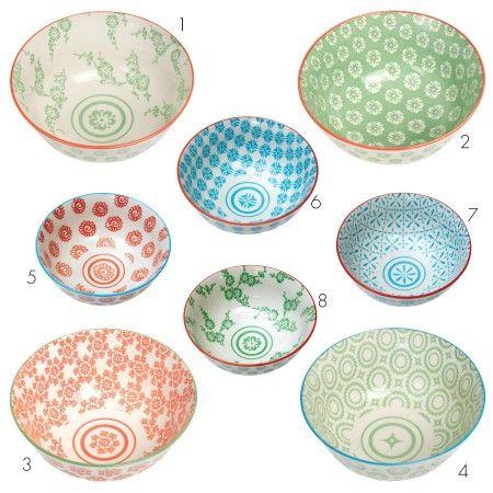 Japanese Bowls - New Autumn Finds - Kitchen