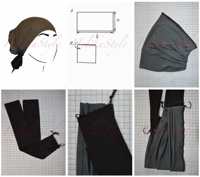 How to sew underscarf-tube :: Sewing classes and tutorials - HelikaStyle  Undrerscarf-tube is the first one among all possible types and the simplest in sewing.