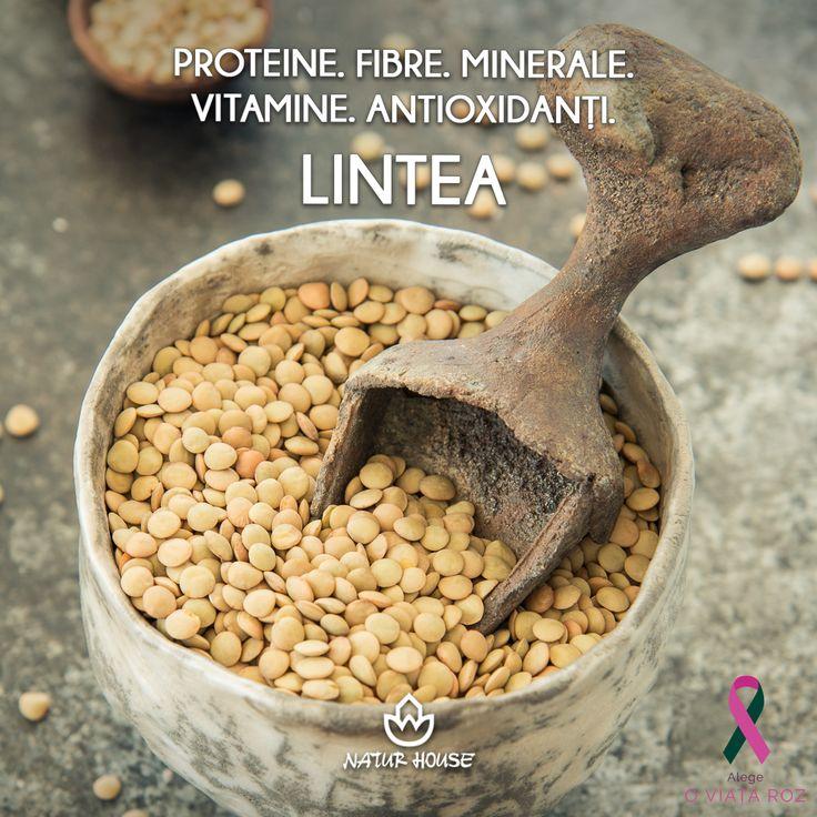 Lintea este o minunată sursă de proteine și fibre, dar este și săracă în grăsimi. Datorită aportului de fibre ajută la controlul greutății. Totodată, având în vedere că deficiența de fier apare frecvent la copii iar lintea este un aliment bogat în fier, aceasta nu ar trebui să lipsească din alimentația celor mici. Mai multe stafuri de nutriție pe www.natur-house.ro