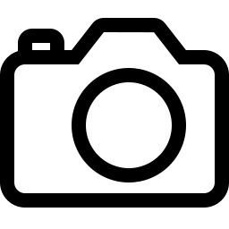 Free camera outline icon & Download free icons for commercial use