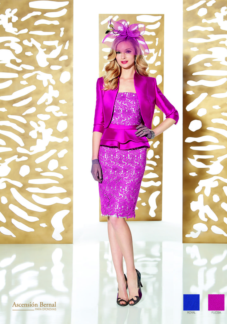 A fierce outfit for a mother of the bride/groom or wedding guest who is looking to turn heads! With such a gorgeous colour and complimentary shape, who could resist this dress? Get it now at Frox of Falkirk!  #fashionfriday #pink #fashion