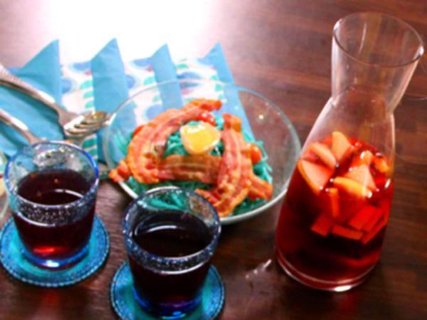 Alkoholfri mini-sangria