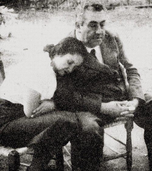 Violeta Parra and the poet, Pablo de Rokha