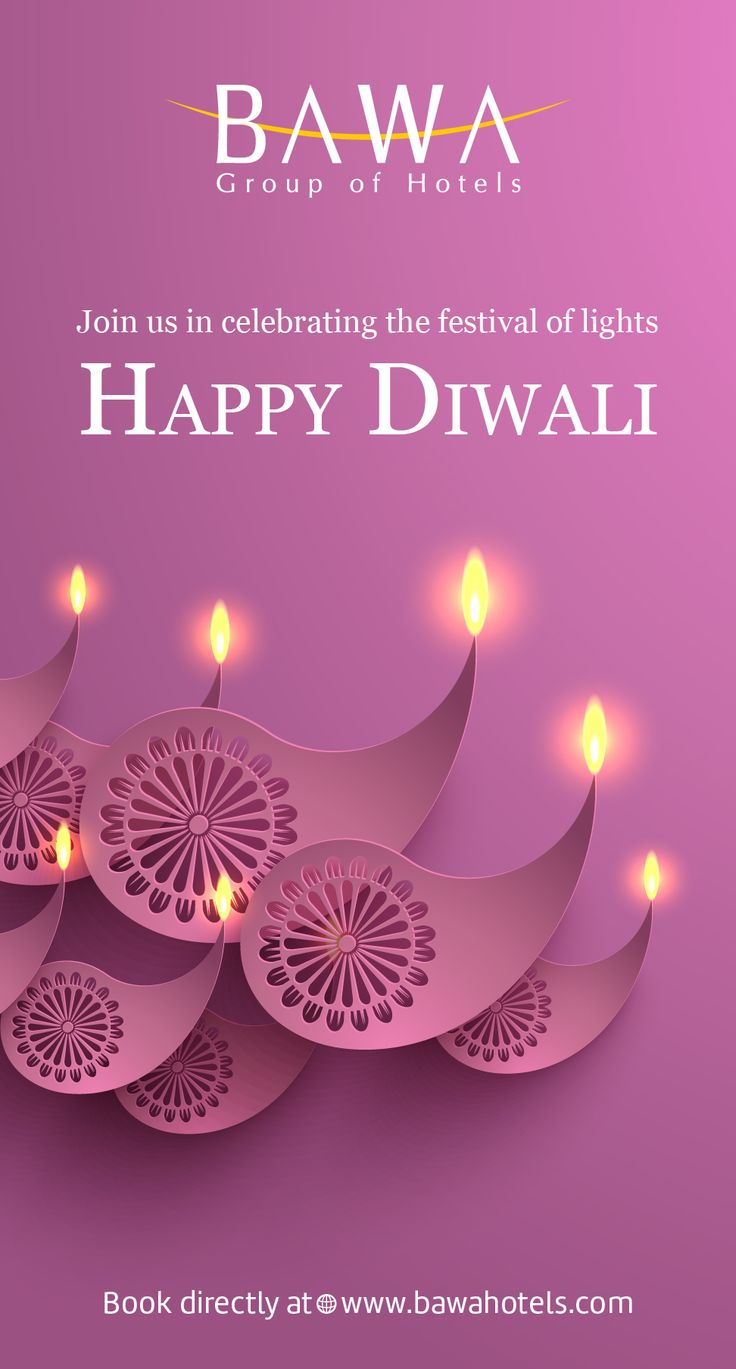 When the night is lit with shimmering lights and joy is felt all around, that's when a wish is born from the heart. Wishing everyone a heartfelt, Happy Diwali.