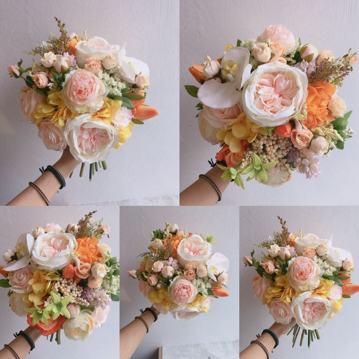 Magnificent Silk Flowers Bouquets Model - Top Wedding Gowns ...