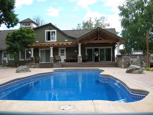 Roloff family home- backyard