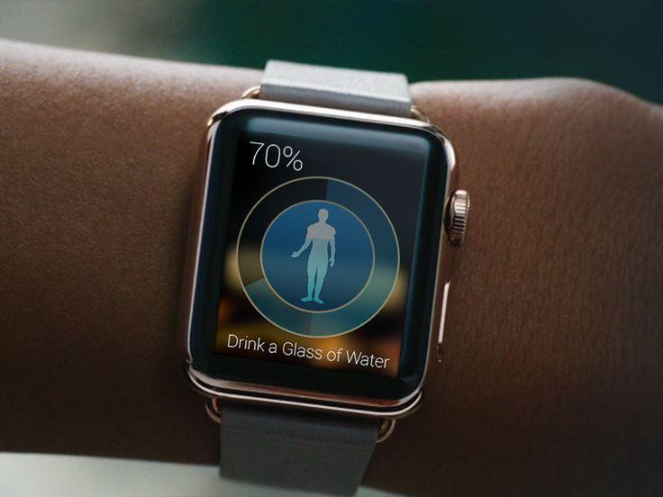 Water balance watch app