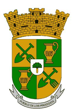 Escudo de Sabana Grande Puerto Rico. The municipality's coat of arms contains the elements that represent the town's patron saints. The shovel and rake allude to San Isidro Labrador. It is believed this representation arose from the faith of the workers in the Sabana Grande countryside. When a bad drought came, they made promises in the hopes that their patron saint would save their crops. The urn represents the domestic tasks of Santa María de la Cabeza, the wife of San Isidro