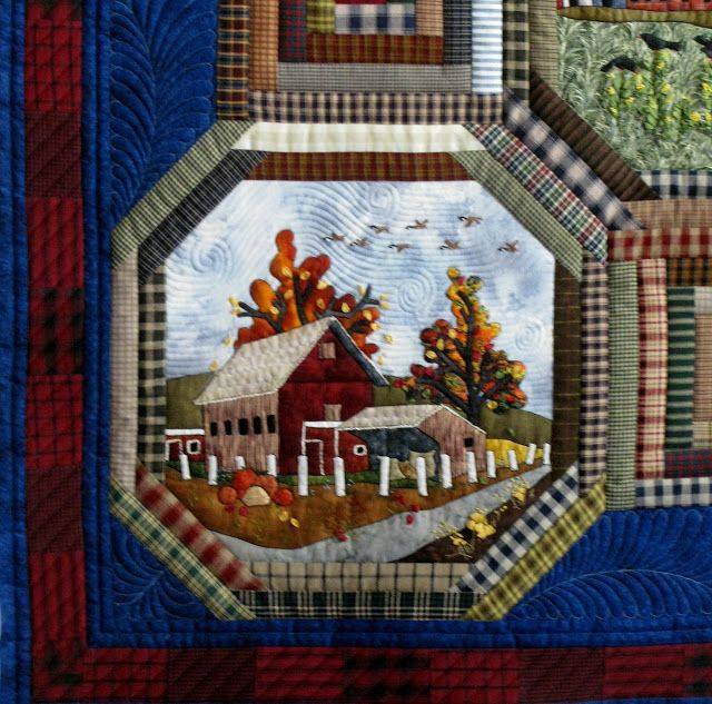 310 best Landscape and Pictorial Quilts images on Pinterest ... : pictorial quilt books - Adamdwight.com