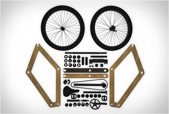 Sandwichbike, the world's first flatpack bicycle, ships from October 2013. Prices start at €799. sandwichbike.com http://www.interestedwomen.com/index.php/curiosities-history-editio