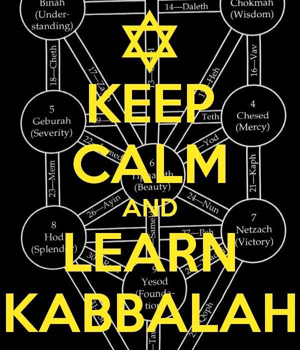Keep Calm and Learn Kabbalah #Kabbalah