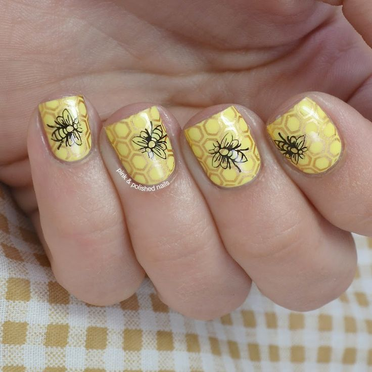 Im Bringing Home A Baby Bumble Bee Pink Amp Polished Nail Designs 2 Pinterest Bumble Bees