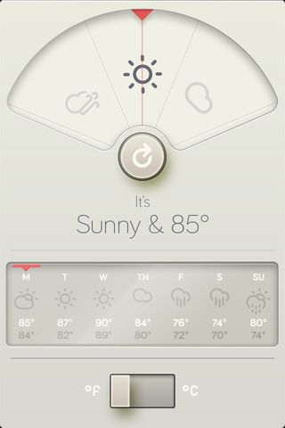*App* | Wthr App for checking the Weather has Very Good UI Design!