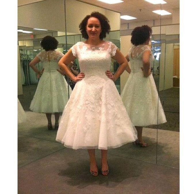 15 Must-see Tea Length Wedding Dresses Pins