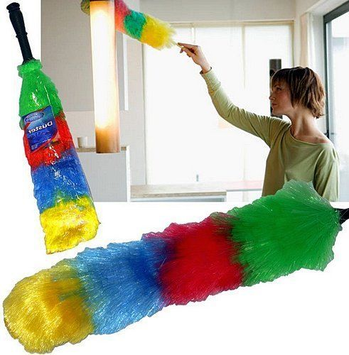 Anti-Static-Duster-Dust-Feather-Cleaning-Washable-Buster-Hygienic-Long-Home-Care