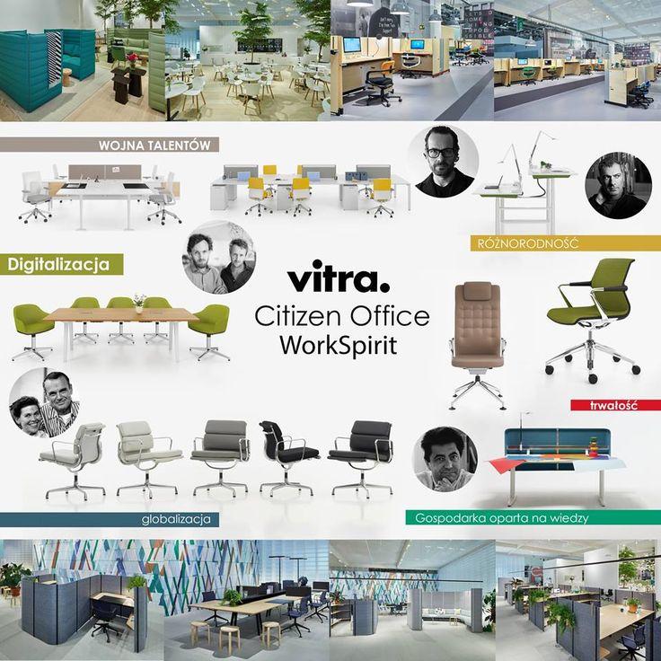 Nikt nie przepada za poniedziałkami, jednak powroty do biura z wyposażeniem marki VITRA staje się dużo przyjemniejsze. Produkty i koncepcja biura Citizen Office i Work Spirit oparte są o proces projektowania łączący ekspertyzy inżynieryjne z kreatywnością i pasją czołowych światowych projektantów. Udanego tygodnia!!!  #Vitra