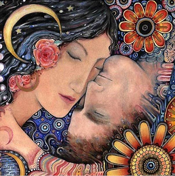 From Susan Given S Gorgeous Etsy Treasury Called Midnight At The Oasis Remember Renee Olstead S Version Of The Song Https Www Klimt Arte Ilustraciones