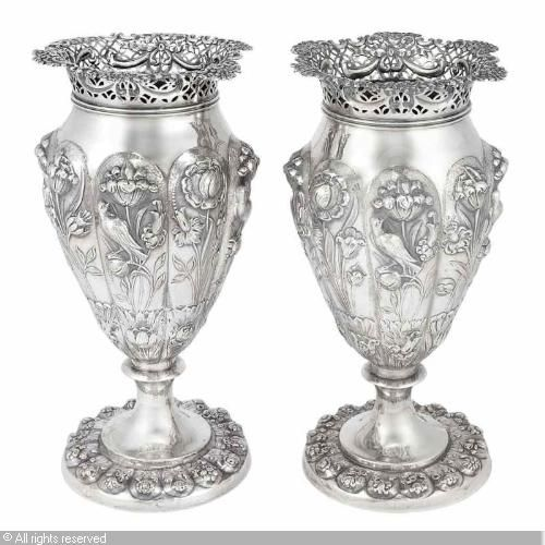 Late Victorian Vases