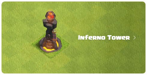 Clash of Clans Inferno Tower http://clashcrunch.com/
