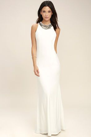 1000  ideas about Formal Maxi Dresses on Pinterest - Nude prom ...