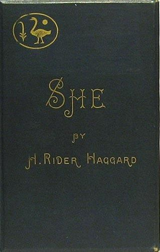 vintage She by H. Rider Haggard