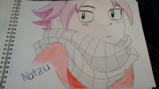 How do you like my drawing of natzu
