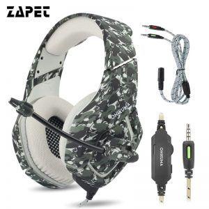 ZAPET Camouflage Headphones